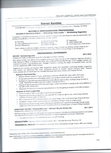 Resume from Modernize Your Resume Resume book